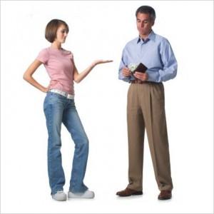 Подать заявление на алименты без развода